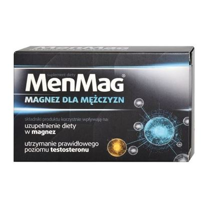 Picture of MenMag, magnez dla mężczyzn, 30 tabletek