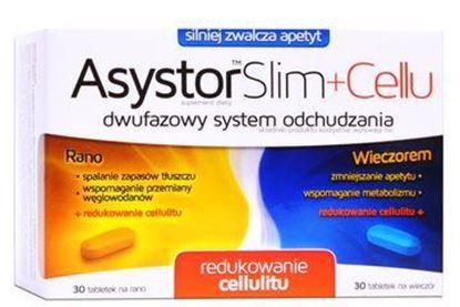Picture of Asystor Slim+Cellu, 30 tabletek + 30 tabletek
