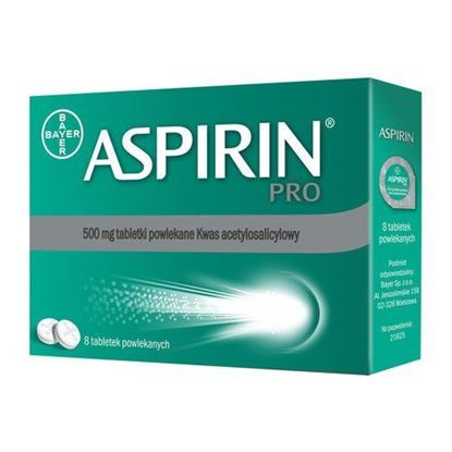 Picture of Aspirin pro 500 mg, 8 tabletek