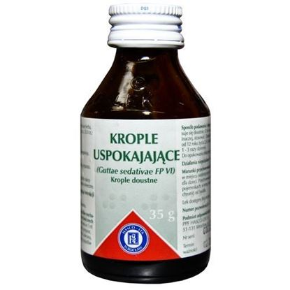 Picture of Krople uspokajające, 35 g (Hasco)