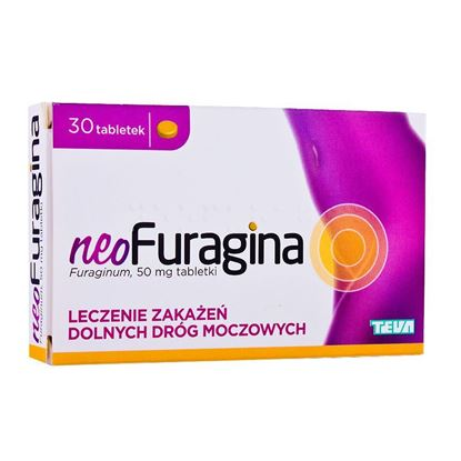 Picture of NeoFuragina 50 mg, 30 tabletek