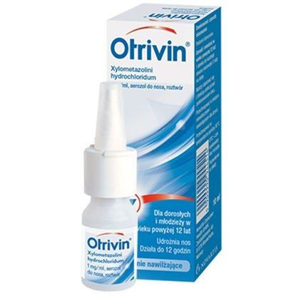 Picture of Otrivin 0.1% aerozol do nosa 1mg/1ml, 10ml
