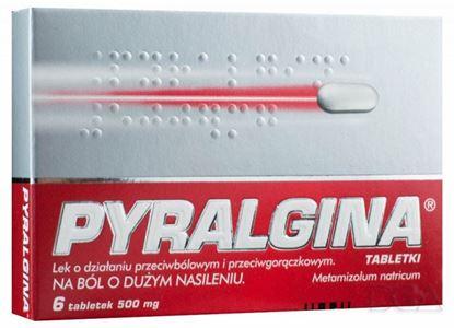 Picture of Pyralgina, 6 tabletek, 500 mg