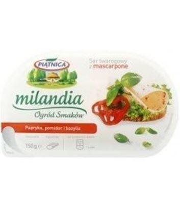 Picture of PIATNICA SER TWAROGOWY MILANDIA Z PAPR I POMID 150g