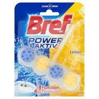 Picture of BREF KOSTKA DO WC POWER ACTIVE LEMON KULKI