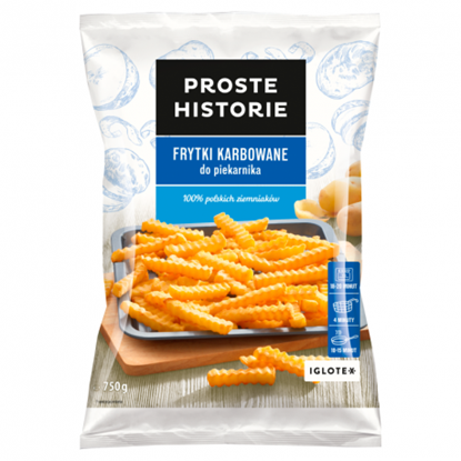 Picture of Frytki karbowane IGLOTEX 750g