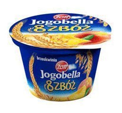 Picture of JOGURT JOGOBELLA 8 ZBOZ BRZOSKWINIA 200 G ZOTT