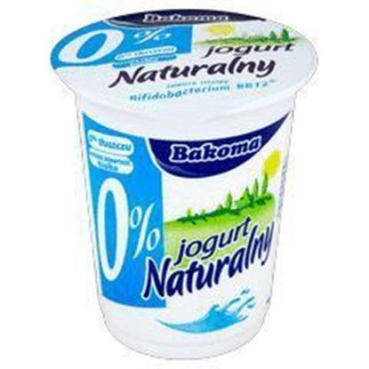 Picture of JOGURT NATURALNY 0% 350G BAKOMA
