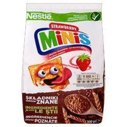 Picture of PLATKI NESTLE 500G STRAWBERRY MINIS