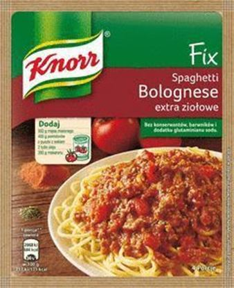 Picture of FIX KNORR SPAGHETTI BOLOGNESE EXTRA ZIOLOWE 48G