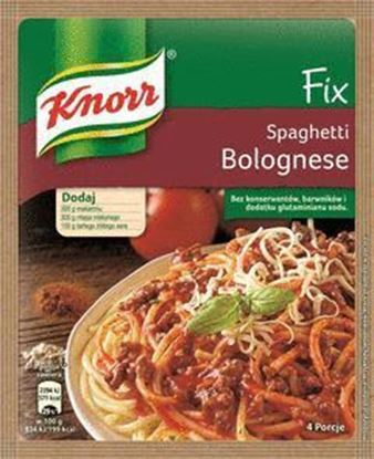 Picture of FIX KNORR SPAGHETTI BOLOGNESE 44G