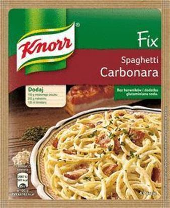 Picture of FIX KNORR SPAGHETTI CARBONARA 45G