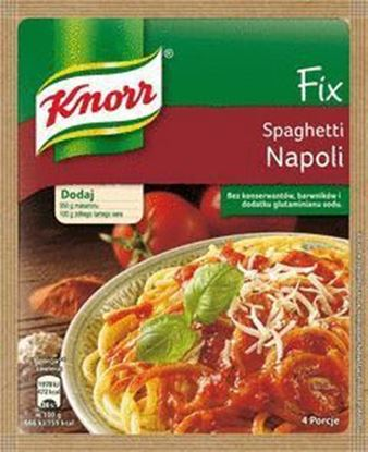 Picture of FIX KNORR SPAGHETTI NAPOLI 45G