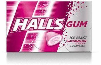 Picture of GUMA HALLS WATERMELON 18G (16 DRAZETEK)
