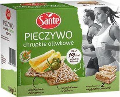 Picture of PIECZYWO CHRUPKIE OLIWKOWE 150G SANTE