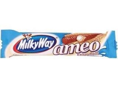 Picture of BATON MILKY WAY CRISPY ROLLS AMEO 25G