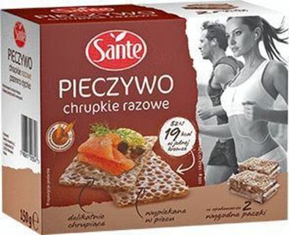 Picture of PIECZYWO CHRUPKIE RAZOWE 150G SANTE