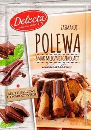 Picture of POLEWA DELECTA MLECZNA CZEKOLADA TWARDA 100G