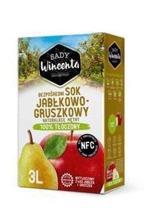 Picture of SOK JABLKO-GRUSZKA NFC 3L SADY WINCENTA