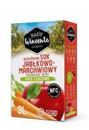 Picture of SOK JABLKO-MARCHEW NFC 3L SADY WINCENTA