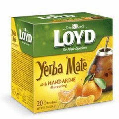 Picture of HERBATA LOYD YERBA MATE MANDARYNKA 20*1,7G MOKATE