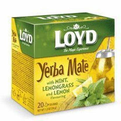 Picture of HERBATA LOYD YERBA MATE MIETA CYTRYNA 20*1,7G MOKATE