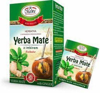 Picture of HERBATA YERBA MATE Z IMBIREM 20*2G MALWA