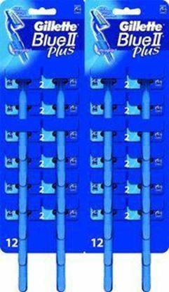 Picture of MASZYNKA JEDNORAZOWA BLUE II GILLETTE - op. 2 szt.