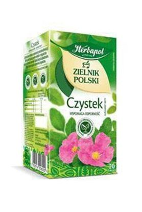 Picture of HERBATA HERBAPOL ZIELNIK CZYSTEK 20*2G