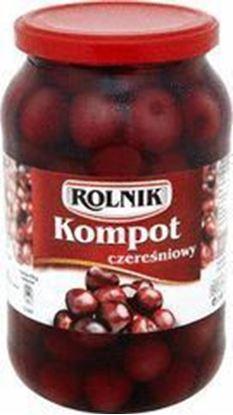 Picture of KOMPOT CZERESNIOWY 900ML ROLNIK