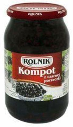 Picture of KOMPOT Z CZARNEJ PORZECZKI 900ML ROLNIK