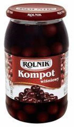 Picture of KOMPOT WISNIOWY 900ML ROLNIK