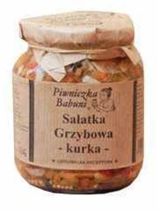 Picture of SALATKA GRZYBOWA KURKA 350G PIWNICZKA BABUNI
