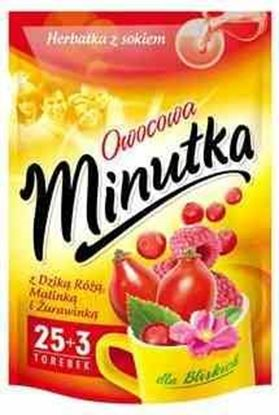 Picture of HERBATA MINUTKA EXP DZIKA ROZA MALINA ZURAWINA (30+2)*2G