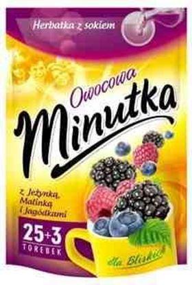 Picture of HERBATA MINUTKA EXP JEZYNA MALINA JAGODA (30+2)*2G