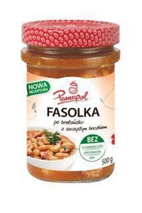 Picture of FASOLKA PO BRETONSKU Z BOCZKIEM 500G PAMAPOL