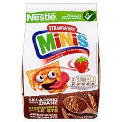 Picture of PLATKI NESTLE 250G STRAWBERRY MINIS