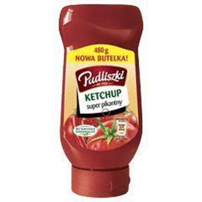 Picture of KETCHUP PUDLISZKI SUPER PIKANTNY 480G BUT PLAST