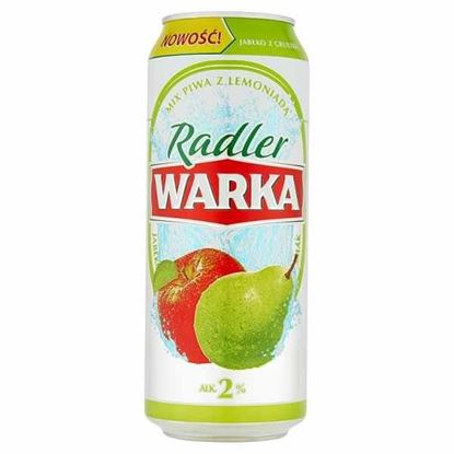Picture of Warka Radler Jablko Gruszka 2% PUSZKA 500ml