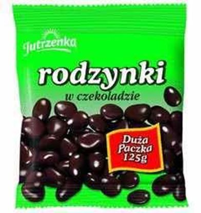 Picture of RODZYNKI W CZEKOLADZIE 125G JUTRZENKA