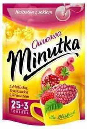 Picture of HERBATA MINUTKA EXP MALINA TRUSKAWKA GRANAT (30+2)*2G