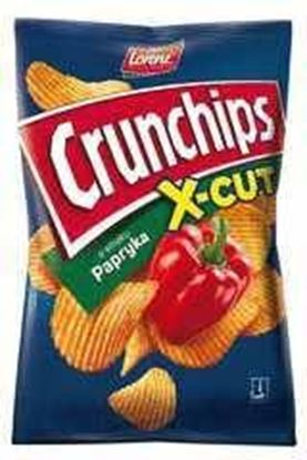 Picture of CHIPSY CRUNCHIPS X-CUT 140G PAPRYKA LORENZ BAHLSEN