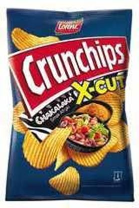 Picture of CHIPSY CRUNCHIPS X-CUT 140G CHAKALAKA LORENZ BAHLSEN