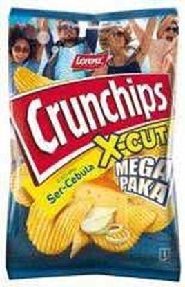 Picture of CHIPSY CRUNCHIPS X-CUT 200G SER CEBULA LORENZ BAHLSEN