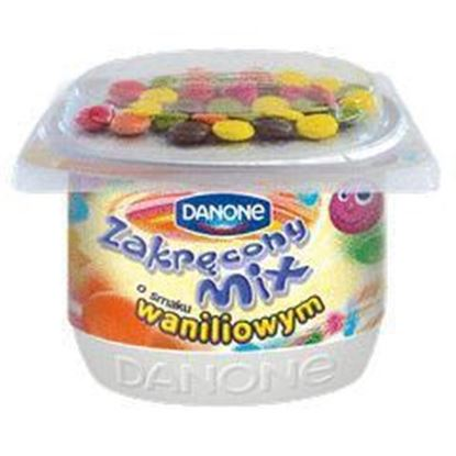 Picture of JOGURT ZAKRECONY MIX WANILIA 125G DANONE