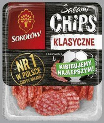 Picture of SALAMI CHIPS KLASYCZNE 80G SOKOLOW