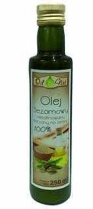 Picture of OLEJ SEZAMOWY 250ML OIL-NUT SZKLO