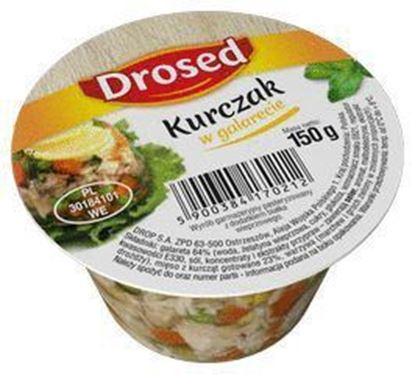 Picture of KURCZAK W GALARECIE 150G DROSED