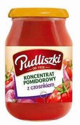 Picture of KONCENTRAT PUDLISZKI POMIDOROWY Z CZOSNKIEM 200G SLOIK