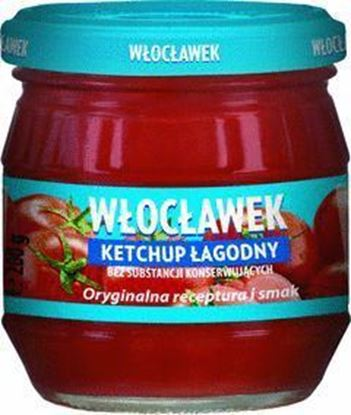 Picture of KETCHUP LAGODNY 200G SLOIK WLOCLAWEK
